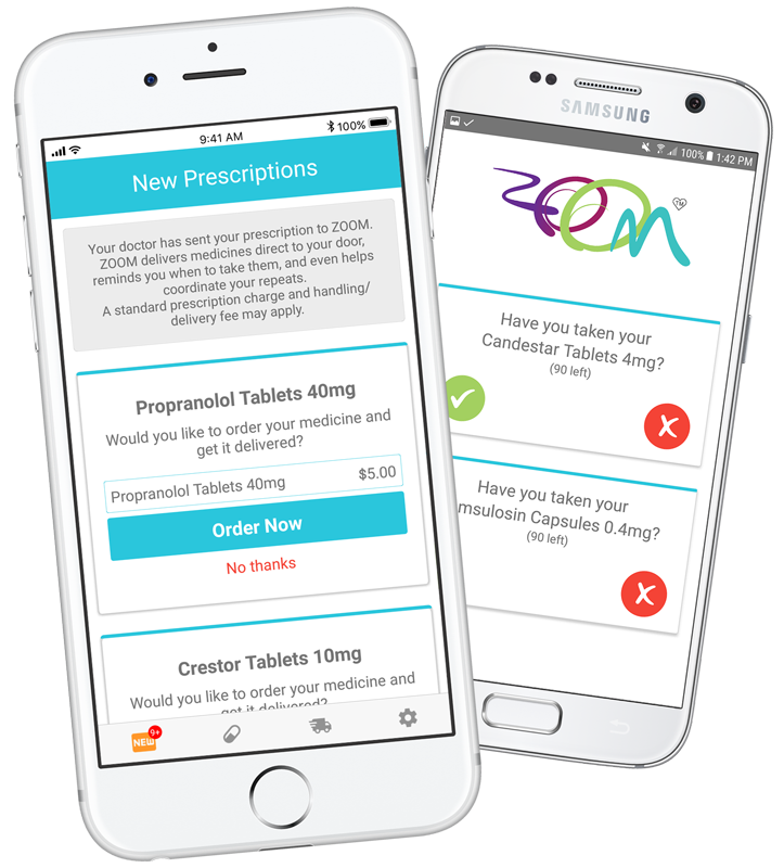 ZOOM Pharmacy Mobile App